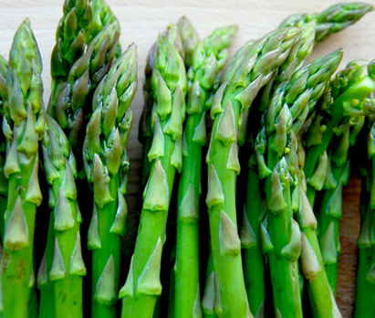 Asparagus - The main ingredient in Asparagus and Mushroom Fritatta